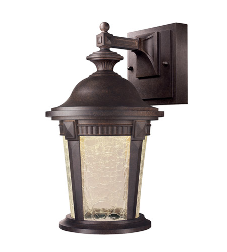 Designers Fountain LED21721-MBZ Whitmore LED 12 inch Mystic Bronze Outdoor Wall Lantern