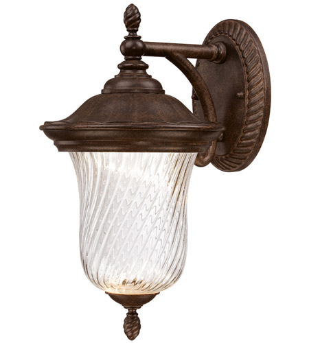 Designers Fountain LED22021-MBZ Wellington LED 14 inch Mystic Bronze Outdoor Wall Lantern