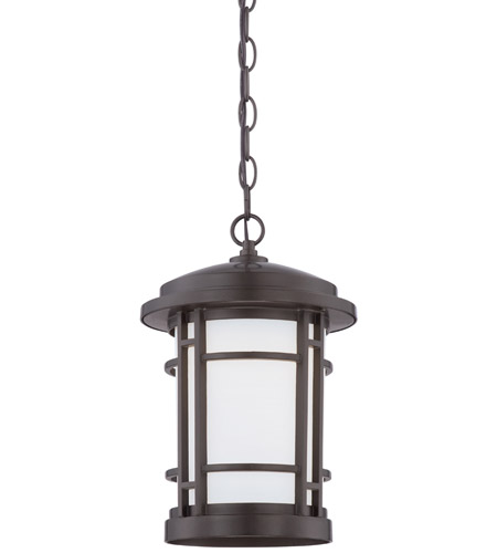 Designers Fountain LED22434-BNB Barrister LED 9 inch Burnished Bronze Outdoor Hanging Lantern photo