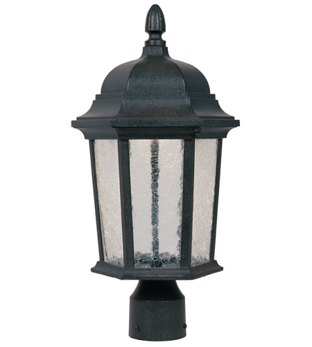 Designers Fountain Abbington Post Lantern in Driftwood LED2776-DWD photo