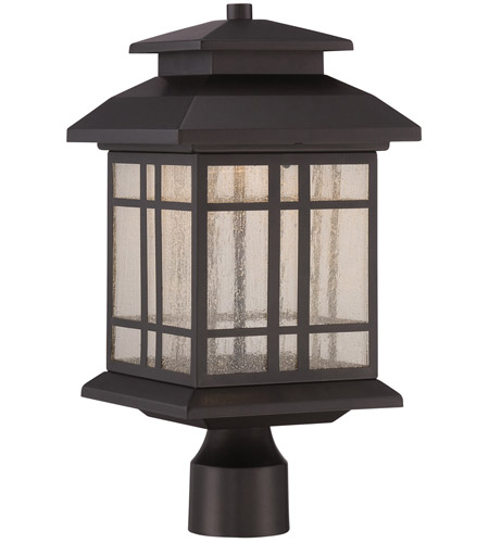 Piedmont Led 17 Inch Oil Rubbed Bronze Outdoor Post Lantern