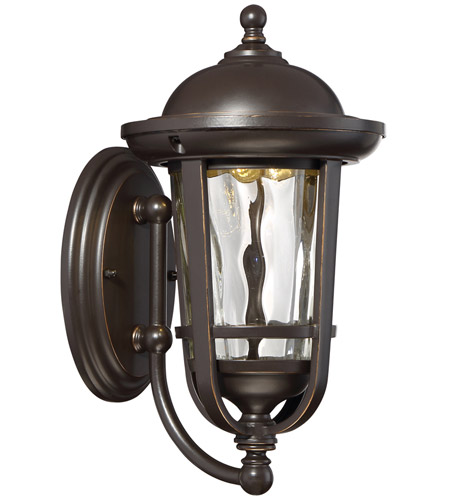 Designers Fountain LED34421-ABP Westbrooke LED 12 inch Aged Bronze Patina Outdoor Wall Lantern