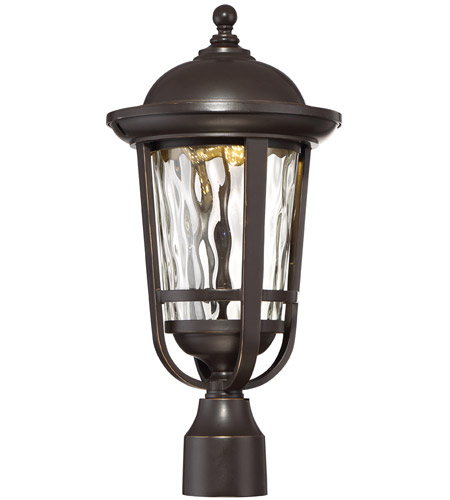 Designers Fountain LED34436-ABP Westbrooke LED 19 inch Aged Bronze Patina Outdoor Post Lantern