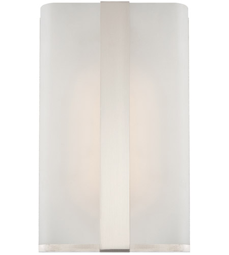 Designers Fountain LED6070-SP Urban LED 5 inch Satin Platinum Wall Sconce Wall Light