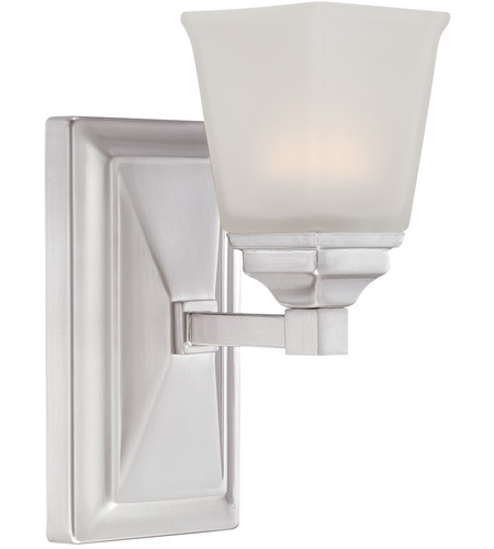 Designers Fountain LED67801-SP Trenton LED 5 inch Satin Platinum Wall Sconce Wall Light