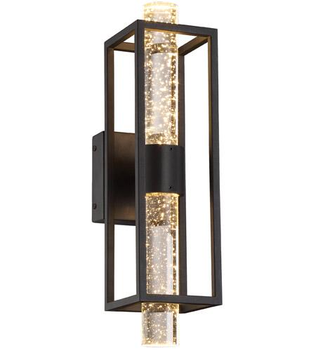 Designers Fountain Led89802 Bk Aloft Led 5 Inch Black Wall Sconce Light
