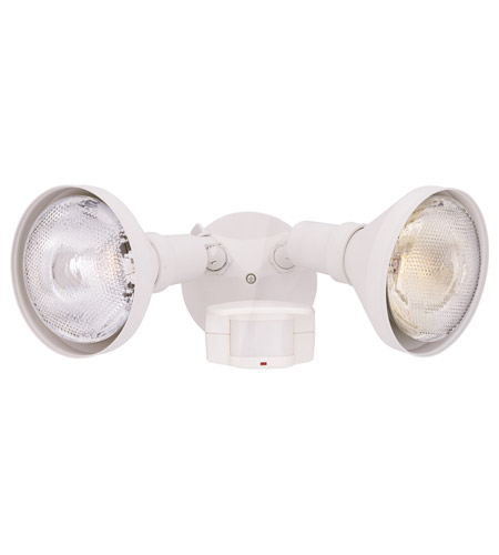 Designers Fountain Area & Security 2 Light Motion Detectors/Security in White P218C-06 photo