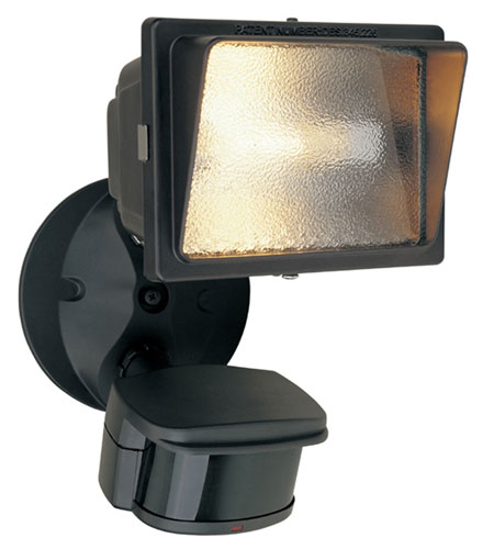 Designers Fountain Motion Detectors 1 Light Security Light in Distressed Bronze PH124-87 photo