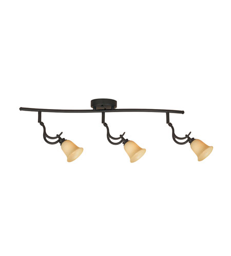 Designers Fountain Montego 3 Light Track Fixture in Oil Rubbed Bronze TKF969-ORB photo