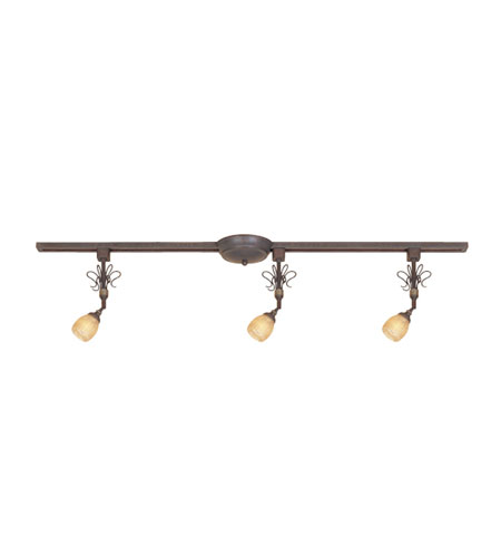 Designers Fountain TKK30-AGB Treble 3 Light Augustine Bronze Track Kit Ceiling Light
