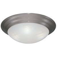 Designers Fountain Lunar 3 Light Flushmount in Pewter 1245L-PW