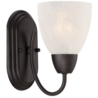 Designers Fountain Torino 1 Light Wall Sconce in Oil Rubbed Bronze 15005-1B-34