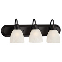 Torino 3 Light 24 inch Oil Rubbed Bronze Bath Bar Wall Light