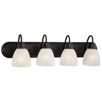 Designers Fountain Torino 4 Light Bath Bar in Oil Rubbed Bronze 15005-4B-34