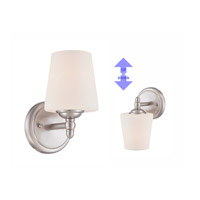 Designers Fountain 15006-1B-35 Darcy 1 Light 5 inch Brushed Nickel Wall Sconce Wall Light