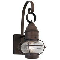 Designers Fountain 1751-RT Nantucket 1 Light 14 inch Rustique Outdoor Wall Lantern photo thumbnail