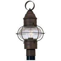 Designers Fountain Nantucket 1 Light Post Lantern in Rustique 1766-RT