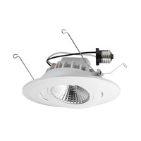 Designers Fountain LED Recessed Gimbal Downlight in White 1G6SCWH-2930