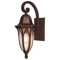 Berkshire 1 Light 18 inch Burnished Antique Copper Outdoor Wall Lantern