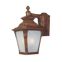 Designers Fountain Lancaster 3 Light Outdoor Wall Lantern in Aged Venetian Walnut 20721-AVW