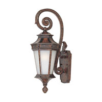 Designers Fountain Grand Court 1 Light Outdoor Wall Lantern in English Burl 20811-EL