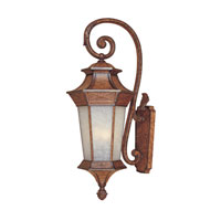 Designers Fountain Grand Court 4 Light Outdoor Wall Lantern in English Burl 20841-EL
