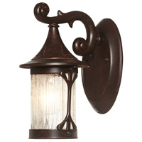 Designers Fountain Canyon Lake 1 Light Outdoor Wall Lantern in Chestnut 20901-CHN