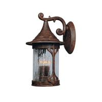 Canyon Lake 4 Light 20 inch Chestnut Outdoor Wall Lantern