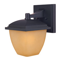 Designers Fountain Kensington 1 Light Outdoor Wall Lantern in Oil Rubbed Bronze 21421-ORB
