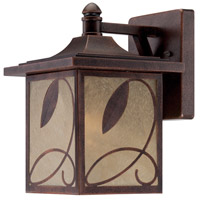 Designers Fountain Devonwood 1 Light Outdoor Wall Lantern in Flemish Copper 22231-FC