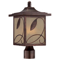 Designers Fountain Devonwood 3 Light Outdoor Post Lantern in Flemish Copper 22236-FC