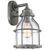 Designers Fountain 23131-WI Brensten 1 Light 14 inch Weathered Iron Outdoor Wall Lantern