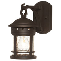 Designers Fountain 2370-ORB Sedona 1 Light 11 inch Oil Rubbed Bronze Outdoor Wall Lantern in Seedy