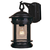 Designers Fountain Sedona 1 Light Outdoor Wall Lantern in Oil Rubbed Bronze 2371-ORB