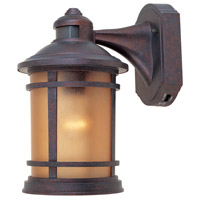 Sedona 1 Light 12 inch Mediterranean Patina Outdoor Wall Lantern