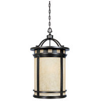 Sedona 3 Light 19 inch Oil Rubbed Bronze Outdoor Foyer