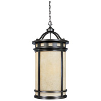 Sedona 4 Light 22 inch Oil Rubbed Bronze Outdoor Foyer