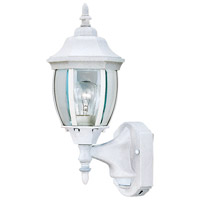 Designers Fountain Tiverton 1 Light Motion Detectors/Security in White 2420MD-WH