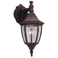 Builder 1 Light 14 inch Autumn Gold Outdoor Wall Lantern