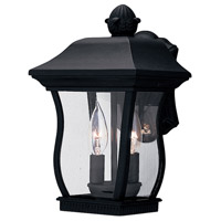 Designers Fountain Chelsea 2 Light Outdoor Wall Lantern in Black 2712-BK