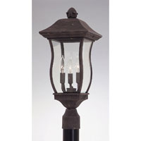 Designers Fountain Chelsea 3 Light Post Lantern in Autumn Gold 2726-AG