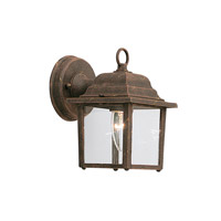 Builder 1 Light 8 inch Autumn Gold Outdoor Wall Lantern