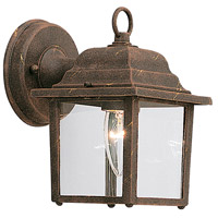Designers Fountain Signature Cast Aluminum 1 Light Outdoor Wall Lantern in Autumn Gold 2861-AG
