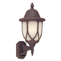 Capella 1 Light 16 inch Autumn Gold Outdoor Wall Lantern