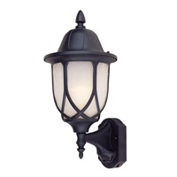 Capella 1 Light 20 inch Black Outdoor Wall Lantern