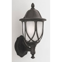 Designers Fountain Capella 1 Light Outdoor Wall Lantern in Black 2869-BK