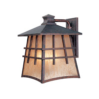 Designers Fountain Oak Park 4 Light Outdoor Wall Lantern in Mediterranean Patina 30721-MP