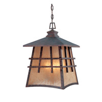Oak Park 4 Light 12 inch Mediterranean Patina Outdoor Flushmount