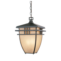 Designers Fountain Dayton 3 Light Outdoor Hanging Lantern in Aged Bronze Patina 30834-ABP