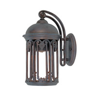 Designers Fountain Barrington 1 Light Outdoor Wall Lantern (Dark Sky) in Old Bronze 31011-OB